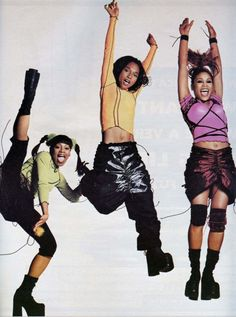 TLC, Rolling Stone, 1993.  Photo: Guy Aroch