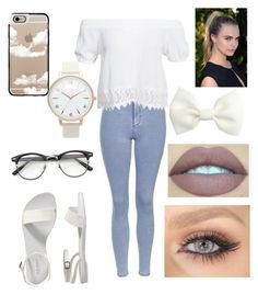 """Untitled #51"" by paigeo3 on Polyvore featuring Topshop, Boohoo, Casetify, Olivia Burton, H&M and Old Navy"