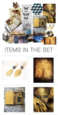"""""""Strange Magic"""" by jarmgirl ❤ liked on Polyvore featuring art"""