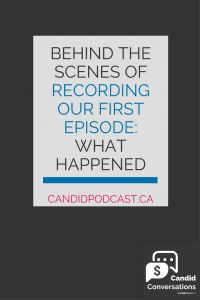 Wondering what it's REALLY like to record your first podcast episode? This blog post shares all the juicy behind-the-scenes details of recording our first podcast episode! Click on over to learn more now