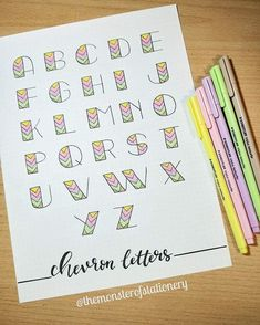 Full Alphabet SVG Font file svg – Happy Fun Script cricut fo… – About Graphic Design Bullet Journal Headers, Bullet Journal Banner, Bullet Journal Notebook, Bullet Journal Ideas Pages, Bullet Journal Inspiration, Bullet Journal For School, Lettering Tutorial, Chevron Letter, Hand Lettering Alphabet