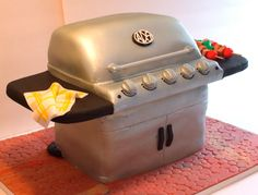 Grill cake