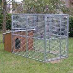 Box per cani mod. Eco + cuccia Collie