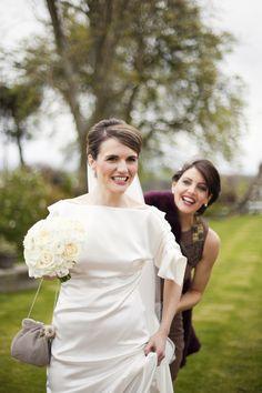 Real Wedding: Downton Abbey – Llior & Will by Victoria Phipps #downtonabbey #wedding #vintage #classic
