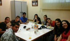 Desayuno con mi grupo de fe