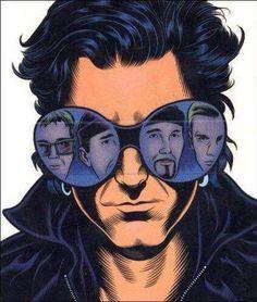 the Rolling Stones Files - Charles Burns Music Icon, My Music, Rock N Roll, U2 Band, Lynda Barry, Paul Hewson, Irish Rock, Larry Mullen Jr, Bono U2