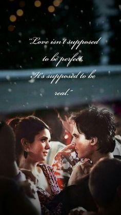 Vampire Diaries Poster, Vampire Diaries Quotes, Vampire Diaries Seasons, Vampire Diaries Wallpaper, Soulmate Love Quotes, Babe Quotes, Film Quotes, Words Quotes, Damon Salvatore Vampire Diaries