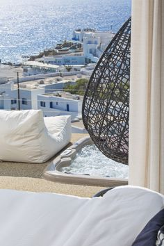 Staring at the beauty of Mykonos by your favorite spot!