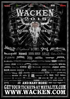 All about Wacken Open Air and all the best music festivals around the world, including news, lineups, locations and tickets! Judas Priest, Festival Flyer, Festival Posters, Concert Posters, Music Posters, Musica Heavy Metal, Heavy Metal Music, Musikfestival Poster, European Festivals