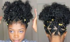 Watch As She Creates A Triangle Box Braid Faux Puff Ball, The Result Speaks For Itself