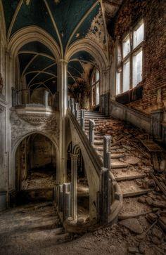 Miranda Castle, aka: Chateau de Noisy, in Celles,Province of Namor, Belgium. http://en.wikipedia.org/wiki/Miranda_Castle
