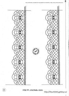 Gallery.ru / Фото #6 - 186 - Fleur55555 Bobbin Lace Patterns, Tatting Patterns, Crochet Patterns, Crochet Doilies, Crochet Stitches, Knit Crochet, Bobbin Lacemaking, Lace Painting, Needle Lace