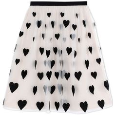 Alice+Olivia 3/4 Length Skirt (€720) ❤ liked on Polyvore featuring skirts, ivory, winter white skirt, zipper skirt, ivory skirt, pink skirt and patterned skirt