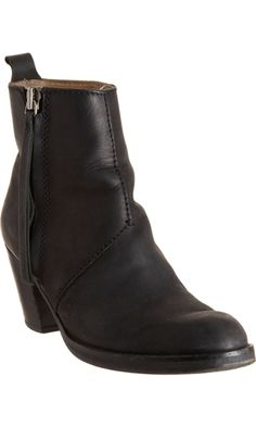 Acne Pistol, perfect black ankle boot