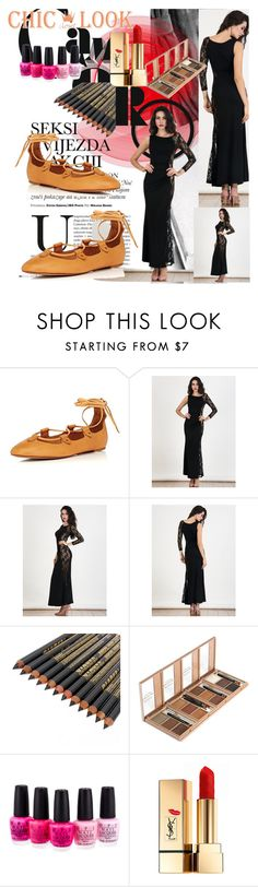 """""""10 chiclookcloset"""" by fatimka-becirovic ❤ liked on Polyvore featuring OPI and Yves Saint Laurent"""