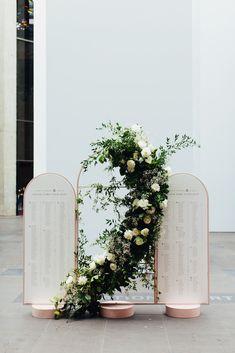 Event Signage, Wedding Signage, Diy Wedding, Dream Wedding, Seating Chart Wedding, Seating Charts, Flower Installation, Wedding Stage Decorations, Art Deco
