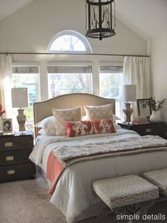 I can't thank you all enough for all of your kind words about our One Room Challenge Craigslist Bedroom Makeover , it was such a fun pr...