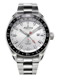 Alpiner 4 GMT (ref. AL-550S5AQ6B). 44m case.