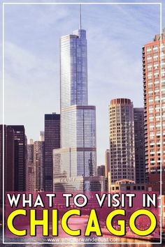 10 things you must see and do in Chicago | Windy City | Illinois |USA | Chicago | Cloud Gate | Millenium Park | Chicago's Riverwalk | Willis Tower | Sky Deck Chicago | Michigan Avenue Chicago | Navy Pier Chicago Usa Travel Guide, Travel Usa, Travel Guides, Travel Tips, Travel Destinations, Budget Travel, Chicago Riverwalk, Arizona, Chicago Travel