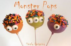 Monster Pops (looks easy enough that a novice like me can handle it!)