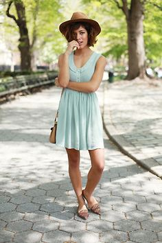 summer dress-love the color!