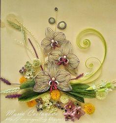 Quilling Seasons: Орхидеи Orchids Ето го и окончателния вариант на ...