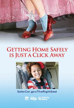 Getting home safely is just a click away. Buckle up. To make sure your children are in the right seats please visit the linked website safercar.gov #carseat #safety #kids #travel