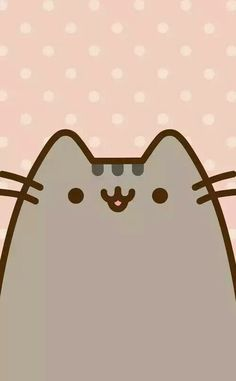 Pusheen cat wallpaper large