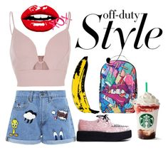"""Street girl 💕"" by cami-lanfranconi-cl on Polyvore featuring moda, Paul & Joe Sister, River Island, T.U.K., Andy Warhol, GALA e Sprayground"