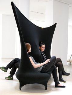 furniture, black, sofa
