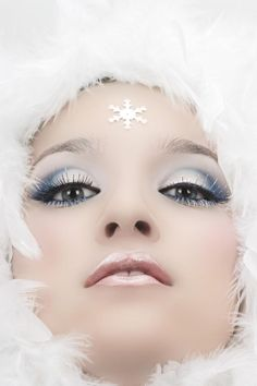 snow makeup - Google Search                                                                                                                                                                                 More