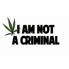 #NotACriminal #LegalizeCannabis #LegalizeFreedom #Freedom #MyMedicine #FreeTheSeed #Marijuana #MedicalMarijuana #MedicinalMarijuana #RecreationalFreedom #RecreationalMarijuana