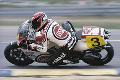Randy Mamola Yamaha YZR500 Lucky Strike