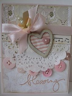 pretty layered card