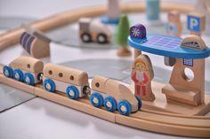 EverEarth Eisenbahn-Set ökologische Stadt - online kaufen | myPram