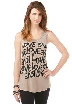 Cato Fashions Love Icon Tank #CatoFashions #catosummerstyle
