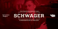 Schwager, font by Latinotype. Schwager can be purchased as a desktop and a web font. Typography Love, Typography Quotes, Typography Letters, Lettering, Slab Serif Fonts, Serif Typeface, Dna, Type Treatments, Vintage Fonts