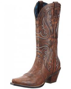 Ariat® Ladies' Heritage Western X Toe Boots