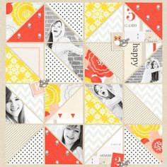 digital scrapbook layout created by EHStudios featuring the April 2014 FREE template by sahlin studio