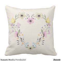 Romantic Mood Throw Pillows
