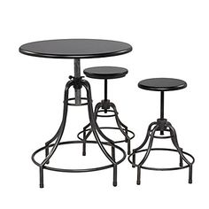 Bistro Adjustable table & stools $129.99 #zgallerie