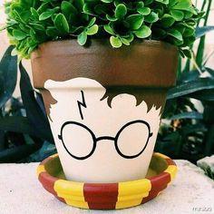 Fãs de Harry Potter e jardinagem, olha que bacana!