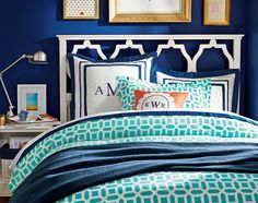 Paint Color? Teenage Girl Bedroom Ideas | Blue Bedroom | PBteen