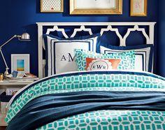 Paint Color? Teenage Girl Bedroom Ideas   Blue Bedroom   PBteen