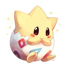 Day 7: most adorable pokemon Look at the little togepi!