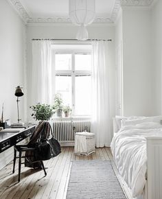 white bedroom design single bedroom idea white bedroom idea minimalist bedroom c… – Wohnen – Bedrooms Interior Design Minimalist, Minimalist Home Decor, Minimalist Apartment, Minimalist Dorm, Minimal Decor, Modern Interior, Modern Minimalist, Bedroom Ideas Minimalist, Minimal Apartment Decor