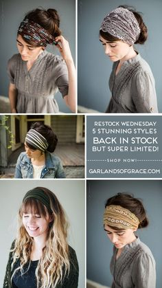 Headband Hairstyles, Diy Hairstyles, Hair Wrap Scarf, Head Scarf Styles, Hair Cover, Short Black Hairstyles, Turban Style, Hair Today, Mode Style