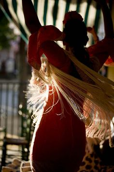 #Seville Feria de Abril. Created in 1846 as a livestock trade fair, over the years its festive nature has displaced its trade origins. Two weeks after Holy Week