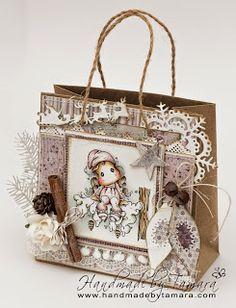 Handmade by Tamara: Little cute Tilda and Snowy branch