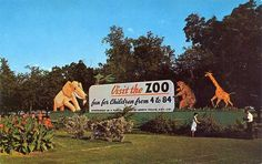 Fort Worth Zoo Sign from years gone by...